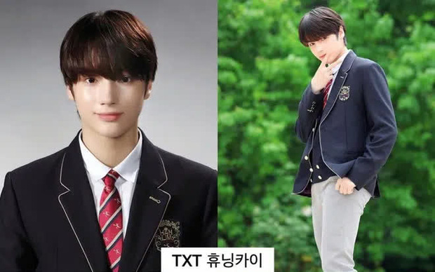 Ảnh tốt nghiệp của dàn idol tại trường Trung học Nghệ thuật gây bão: Em trai BTS hết chỗ chê, dàn idol nữ kém nổi xinh bất ngờ - Ảnh 3.