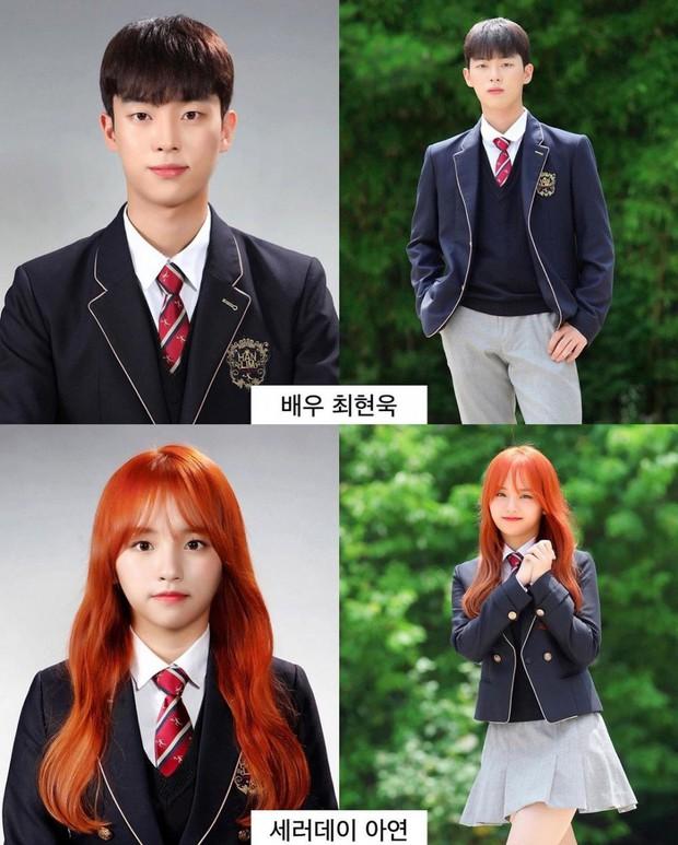 Ảnh tốt nghiệp của dàn idol tại trường Trung học Nghệ thuật gây bão: Em trai BTS hết chỗ chê, dàn idol nữ kém nổi xinh bất ngờ - Ảnh 6.
