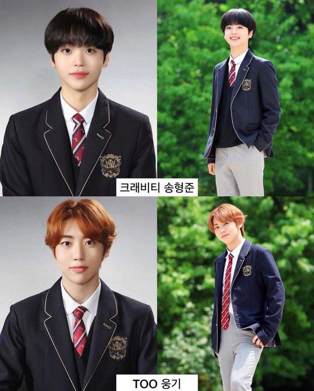 Ảnh tốt nghiệp của dàn idol tại trường Trung học Nghệ thuật gây bão: Em trai BTS hết chỗ chê, dàn idol nữ kém nổi xinh bất ngờ - Ảnh 8.