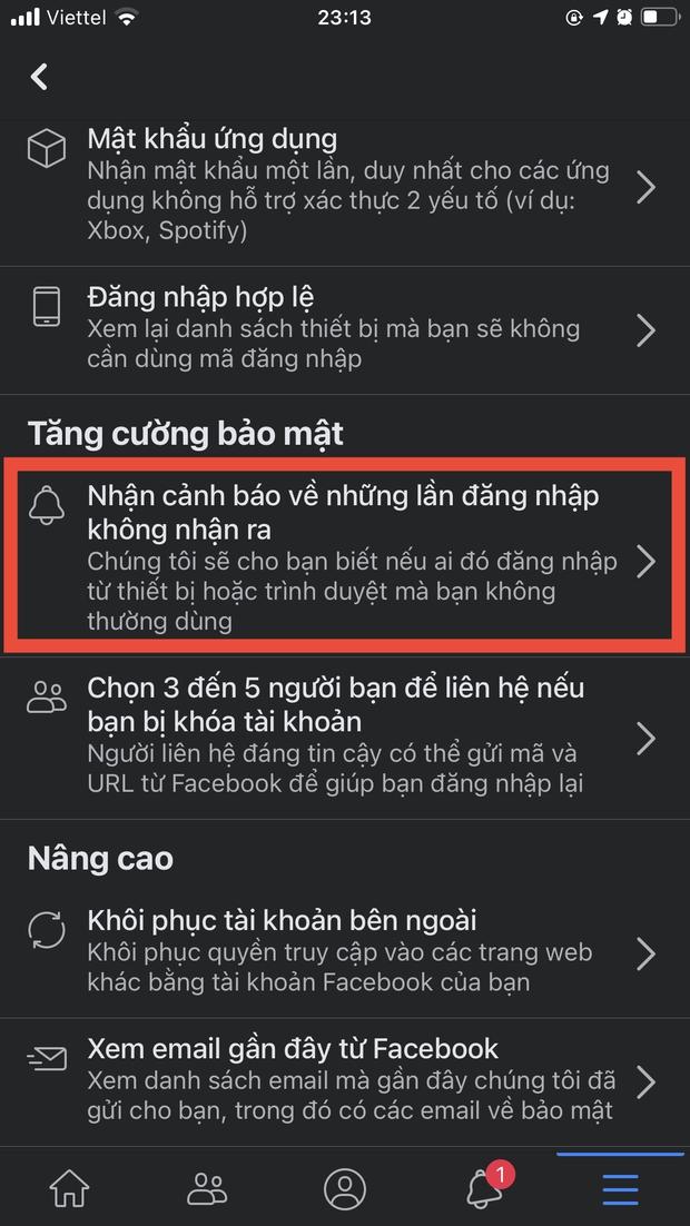 Nằm lòng những nguyên tắc bảo mật sau để dẹp đi nỗi lo bốc hơi tài khoản Facebook - Ảnh 4.
