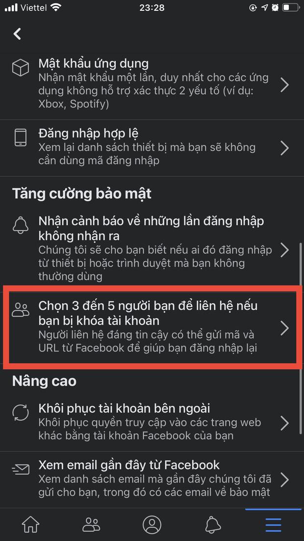 Nằm lòng những nguyên tắc bảo mật sau để dẹp đi nỗi lo bốc hơi tài khoản Facebook - Ảnh 6.