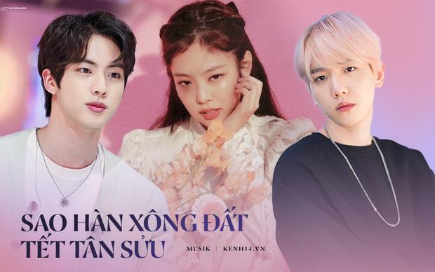 Idol Kpop hợp tuổi xông đất năm Tân Sửu: Bạn muốn cặp ChanBaek (EXO) hay Jennie (BLACKPINK), Jin (BTS) tới nhà mùng 1 Tết đây? - Ảnh 1.