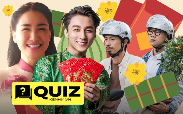 Thử ngay vận may với bài quiz dễ như ăn kẹo về MV Tết, trả lời đúng hết thì son lắm đây! - Ảnh 1.