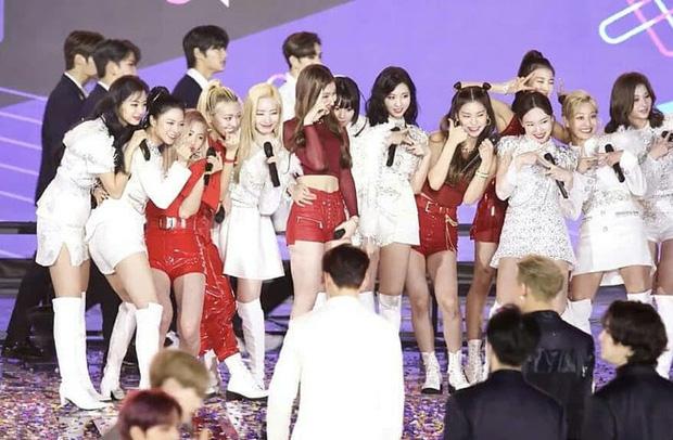Nayeon bất ngờ trượt ngã trên sân khấu: TWICE và ITZY hốt hoảng, đặc biệt chú ý đến phản ứng của mỹ nam Cha Eunwoo - Ảnh 8.