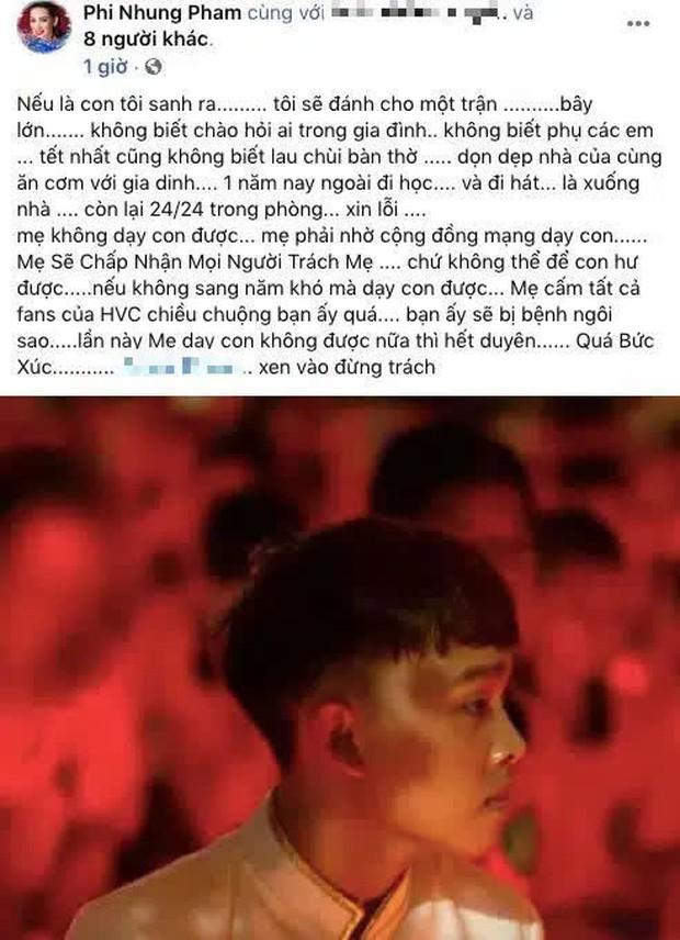 29 Tết, Phi Nhung bức xúc vì không dạy được Quán quân Vietnam Idol Kids, khẳng định hết duyên nếu con nuôi không sửa bệnh ngôi sao - Ảnh 2.