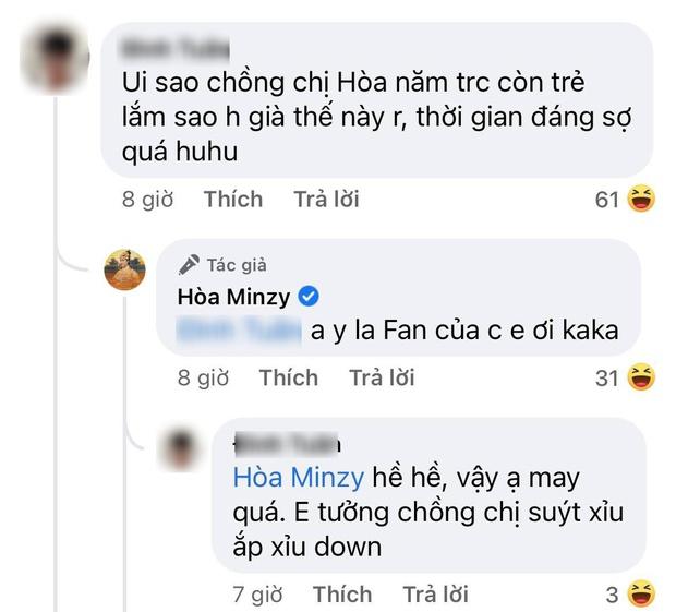 """Dở khóc dở cười Hoà Minzy phải giải thích vì bạn trai đại gia bị nhận nhầm, ai dè lộ chi tiết thừa nhận người ấy là """"chồng""""? - Ảnh 3."""