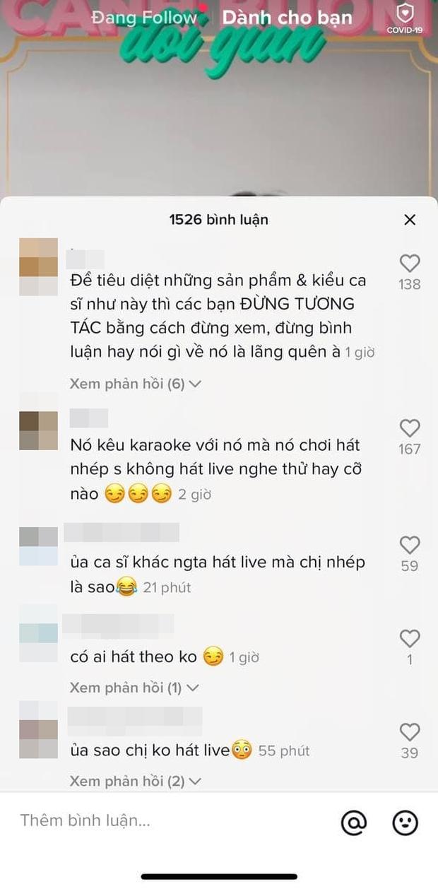 Phí Phương Anh đăng clip rủ rê fan hát karaoke lập tức bị mỉa mai: Hát karaoke mà cũng nhép luôn - Ảnh 4.
