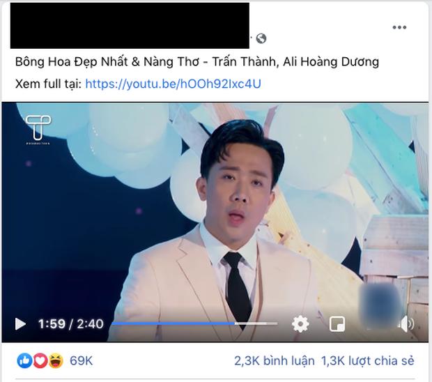 Cover cùng Ali Hoàng Dương hit Nàng Thơ nhưng Trấn Thành bị nhận xét giọng giả trân, không thấm được một nốt? - Ảnh 3.