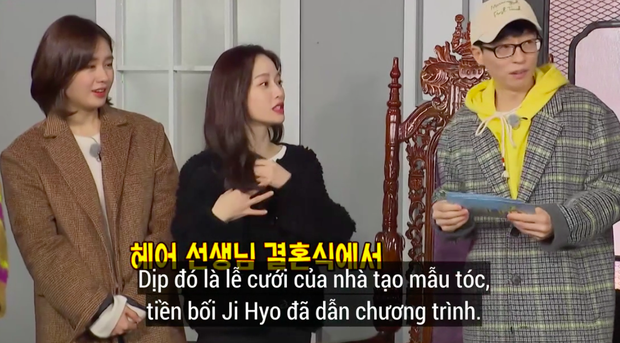 Các thành viên Running Man ngỡ ngàng khi nghe tin Song Ji Hyo làm MC lễ cưới - Ảnh 1.