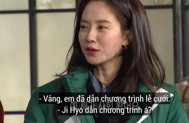 Các thành viên Running Man ngỡ ngàng khi nghe tin Song Ji Hyo làm MC lễ cưới - Ảnh 2.