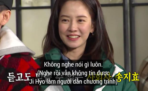 Các thành viên Running Man ngỡ ngàng khi nghe tin Song Ji Hyo làm MC lễ cưới - Ảnh 5.
