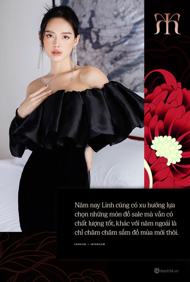 Đầu năm nghe Cô Em Trendy Khánh Linh kể chuyện: Tết dù hạn chế ra đường thì mình vẫn sẽ mặc đẹp ở nhà cho có không khí - Ảnh 3.