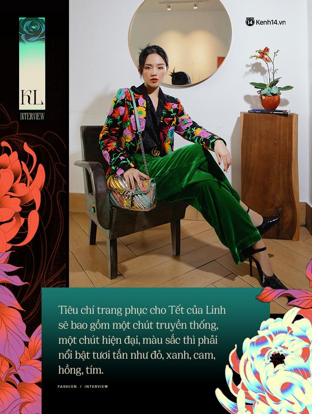 Đầu năm nghe Cô Em Trendy Khánh Linh kể chuyện: Tết dù hạn chế ra đường thì mình vẫn sẽ mặc đẹp ở nhà cho có không khí - Ảnh 4.