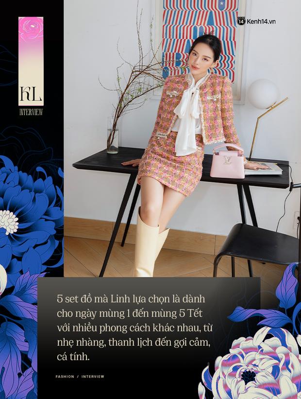 Đầu năm nghe Cô Em Trendy Khánh Linh kể chuyện: Tết dù hạn chế ra đường thì mình vẫn sẽ mặc đẹp ở nhà cho có không khí - Ảnh 6.