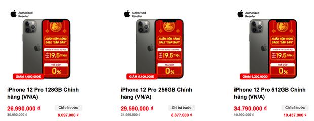 Giá iPhone 12 tiếp tục giảm mạnh ngày cuối năm - Ảnh 3.