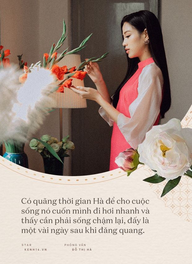 Đỗ Thị Hà và năm đầu tiên đón Tết với cương vị là Hoa hậu: Tôi chưa có người yêu, nhưng đẹp mà không có ai tán mới lạ - Ảnh 3.