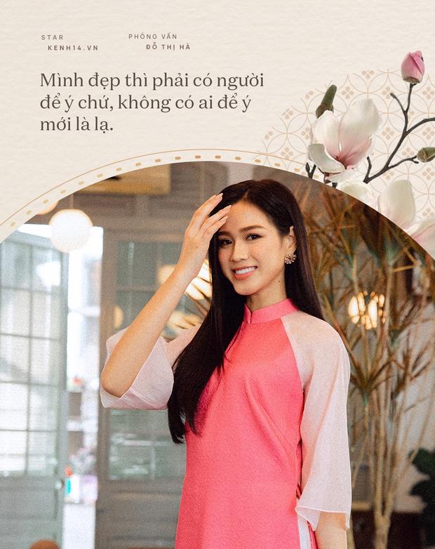 Đỗ Thị Hà và năm đầu tiên đón Tết với cương vị là Hoa hậu: Tôi chưa có người yêu, nhưng đẹp mà không có ai tán mới lạ - Ảnh 6.