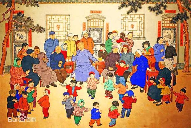 1001 quy tắc chúc Tết của người Hoa: Làm Lễ tiễn nghèo, cấm phụ nữ đi chúc Tết, lạ lùng nhất là đóng cửa không tiếp khách - Ảnh 1.