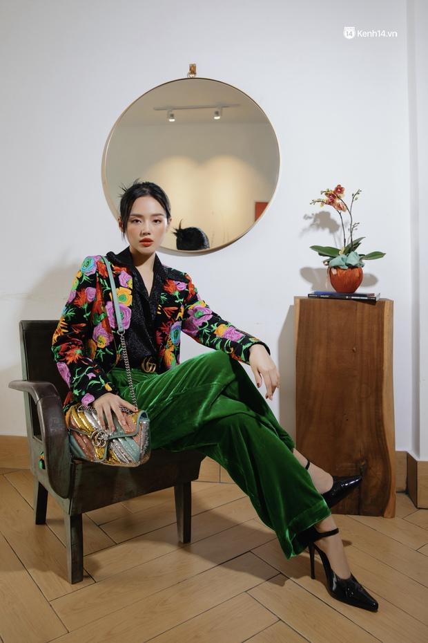 Đầu năm nghe Cô Em Trendy Khánh Linh kể chuyện: Tết dù hạn chế ra đường thì mình vẫn sẽ mặc đẹp ở nhà cho có không khí - Ảnh 11.