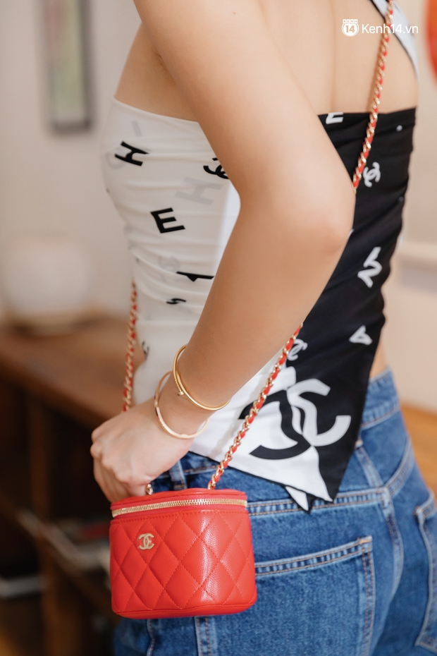 Đầu năm nghe Cô Em Trendy Khánh Linh kể chuyện: Tết dù hạn chế ra đường thì mình vẫn sẽ mặc đẹp ở nhà cho có không khí - Ảnh 13.