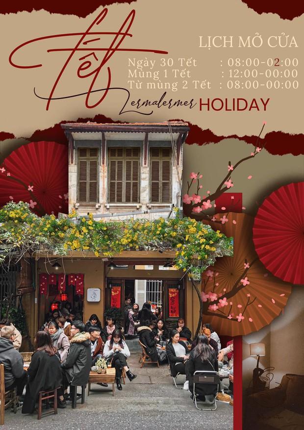 Update ngay loạt quán cà phê mở xuyên Tết ở Hà Nội cho dân tình tha hồ đi chill - Ảnh 25.
