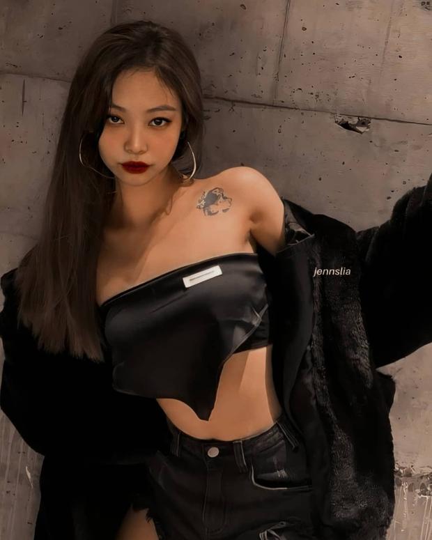 Hot rần rần loạt ảnh Jennie (BLACKPINK) vừa hở bạo vừa trang điểm đậm sexy, có hẳn tha thu mới, chuyện gì đây? - Ảnh 3.