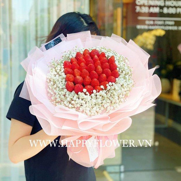 Nhiều tiệm hoa tại Hà Nội - Sài Gòn vẫn mở xuyên Tết để các anh đặt tặng nửa kia dịp Valentine - Ảnh 21.
