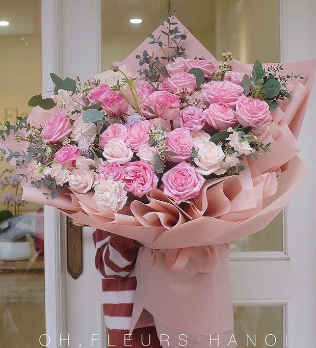 Nhiều tiệm hoa tại Hà Nội - Sài Gòn vẫn mở xuyên Tết để các anh đặt tặng nửa kia dịp Valentine - Ảnh 4.