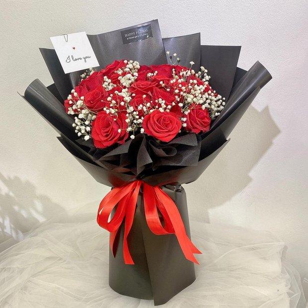 Nhiều tiệm hoa tại Hà Nội - Sài Gòn vẫn mở xuyên Tết để các anh đặt tặng nửa kia dịp Valentine - Ảnh 10.