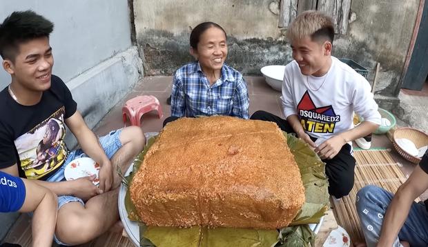 Bà Tân làm bánh chưng tốn 10kg nếp chốt hạ 2020 đầy drama, dân mạng chú ý chi tiết cảnh cáo gãy răng mất cái Tết - Ảnh 8.
