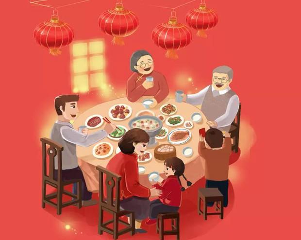 Tập tục cầu phúc cực hay ho và truyền thuyết ít người biết về đêm Giao thừa ở Trung Quốc - Ảnh 4.