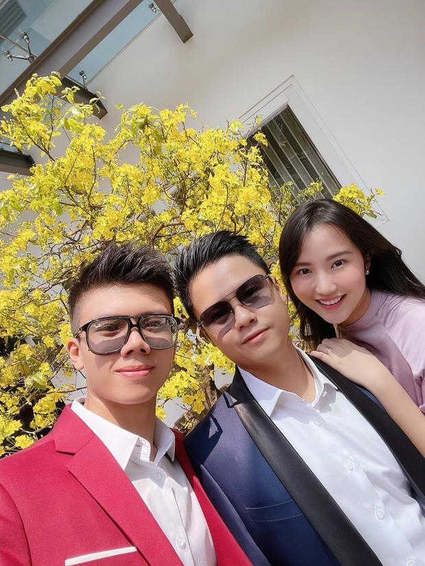 Tổng giám đốc Phan Thành chúc mừng năm mới sau siêu đám cưới, bảnh tỏn thế này là nhờ hơi vợ à? - Ảnh 1.