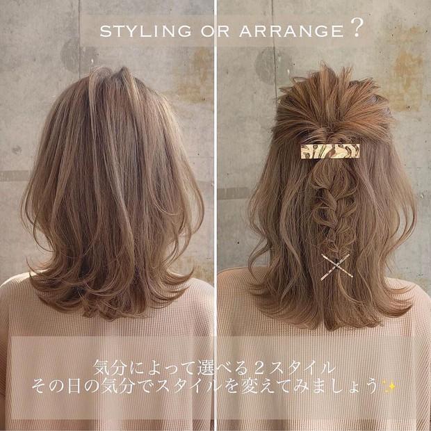 Chẳng kịp làm tóc chơi Tết thì bạn vẫn có thể F5 diện mạo với 3 cách tạo kiểu đơn giản mà xinh nức nở này - Ảnh 4.