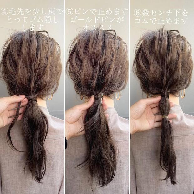 Chẳng kịp làm tóc chơi Tết thì bạn vẫn có thể F5 diện mạo với 3 cách tạo kiểu đơn giản mà xinh nức nở này - Ảnh 9.