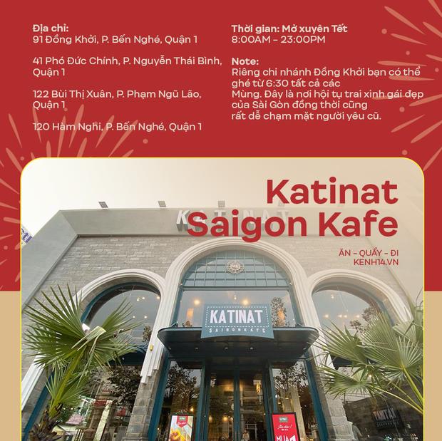Danh sách những quán cà phê mở cửa xuyên Tết ở Sài Gòn, có tới hàng trăm sự lựa chọn đây khỏi lo thiếu chỗ! - Ảnh 3.