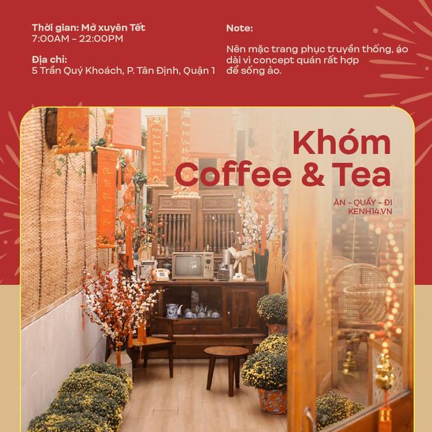 Danh sách những quán cà phê mở cửa xuyên Tết ở Sài Gòn, có tới hàng trăm sự lựa chọn đây khỏi lo thiếu chỗ! - Ảnh 4.