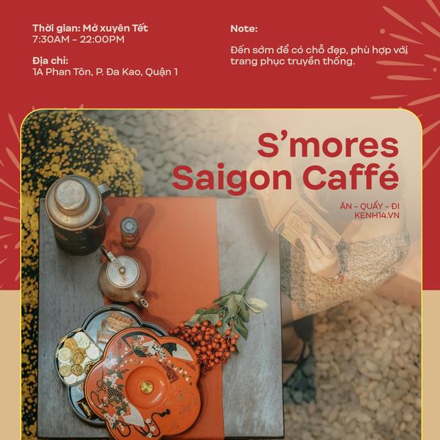 Danh sách những quán cà phê mở cửa xuyên Tết ở Sài Gòn, có tới hàng trăm sự lựa chọn đây khỏi lo thiếu chỗ! - Ảnh 5.
