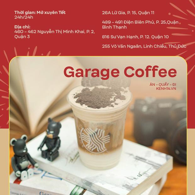 Danh sách những quán cà phê mở cửa xuyên Tết ở Sài Gòn, có tới hàng trăm sự lựa chọn đây khỏi lo thiếu chỗ! - Ảnh 9.