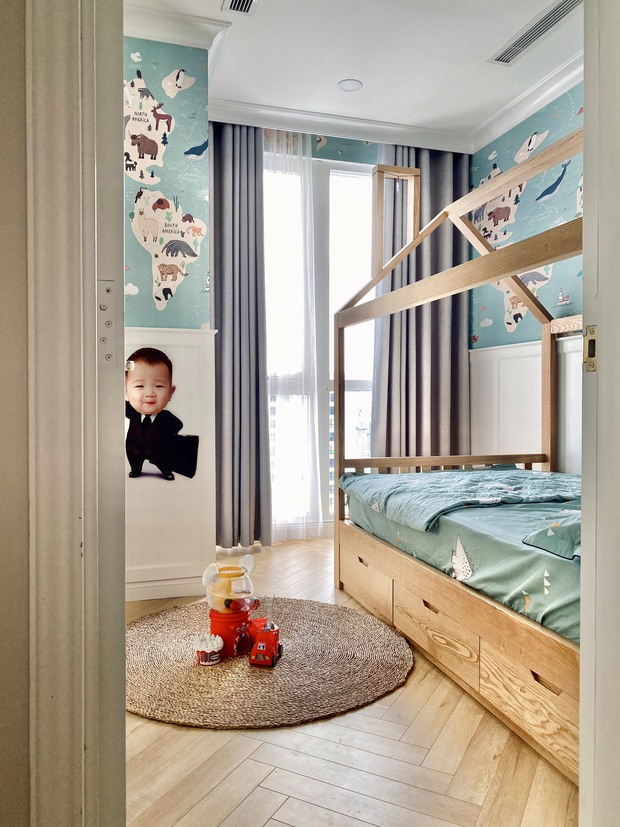 Lấy cảm hứng từ phim truyền hình Mỹ, designer thiết kế căn hộ Royal City theo style Farmhouse tinh tế đến từng chi tiết - Ảnh 11.