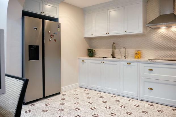 Lấy cảm hứng từ phim truyền hình Mỹ, designer thiết kế căn hộ Royal City theo style Farmhouse tinh tế đến từng chi tiết - Ảnh 5.