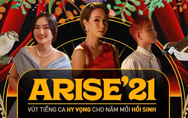 ARISE21 - Vút tiếng ca hy vọng cho ngày mới hồi sinh: Uyên Linh làm mới Đi Để Trở Về, Nguyên Hà - Hoàng Dũng kể chuyện tình yêu và còn nhiều hơn thế - Ảnh 3.
