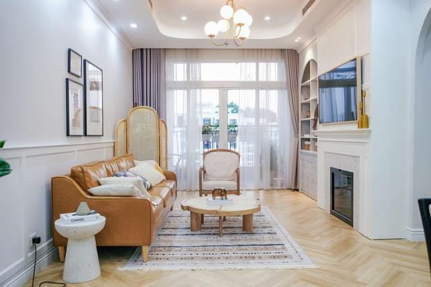 Lấy cảm hứng từ phim truyền hình Mỹ, designer thiết kế căn hộ Royal City theo style Farmhouse tinh tế đến từng chi tiết - Ảnh 6.