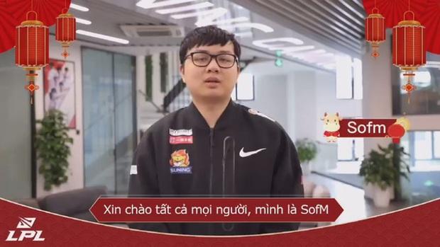 LPL dành tặng món quà đặc biệt cho fan LMHT Việt Nam, SofM đại diện gửi lời chào năm mới tới khán giả quê nhà - Ảnh 2.