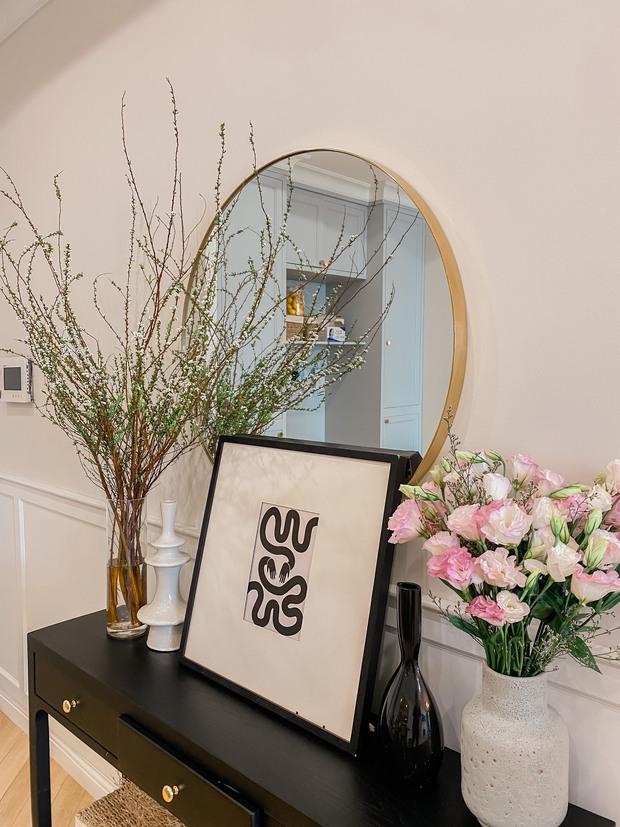 Lấy cảm hứng từ phim truyền hình Mỹ, designer thiết kế căn hộ Royal City theo style Farmhouse tinh tế đến từng chi tiết - Ảnh 3.