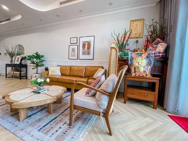 Lấy cảm hứng từ phim truyền hình Mỹ, designer thiết kế căn hộ Royal City theo style Farmhouse tinh tế đến từng chi tiết - Ảnh 7.