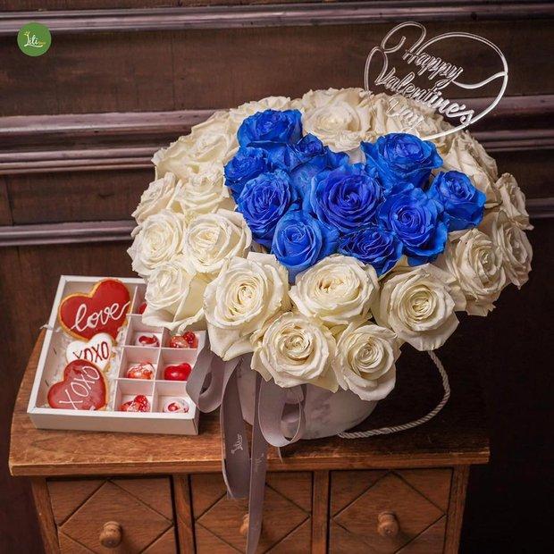 Nhiều tiệm hoa tại Hà Nội - Sài Gòn vẫn mở xuyên Tết để các anh đặt tặng nửa kia dịp Valentine - Ảnh 13.