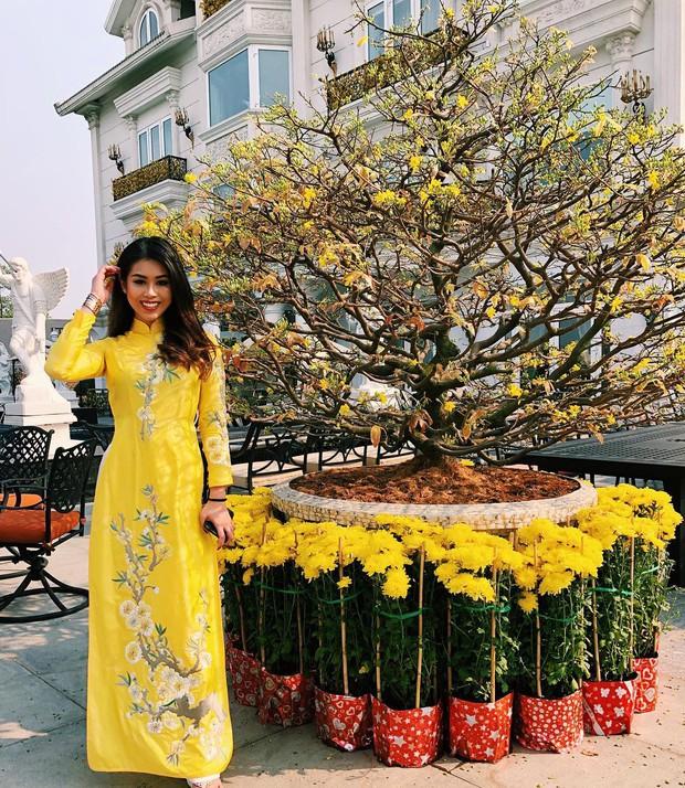 Cả năm đắp hàng hiệu nhưng Tết là Tiên Nguyễn lại diện đồ truyền thống, tiện khoe luôn background biệt thự to đùng vật vã - Ảnh 13.
