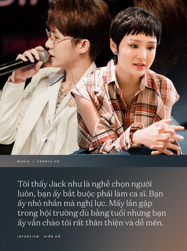 Hiền Hồ: Jack là nghề chọn người, buộc bạn ấy phải làm ca sĩ; trong năm 2021 nếu duyên tới tôi sẽ đóng phim - Ảnh 4.