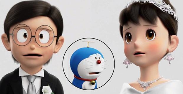 4 cặp anime trên tình bạn dưới tình yêu nức tiếng: Dành cả thanh xuân chờ Nobita cưới Shizuka, cặp đam mỹ Sakura ra khơi! - Ảnh 10.