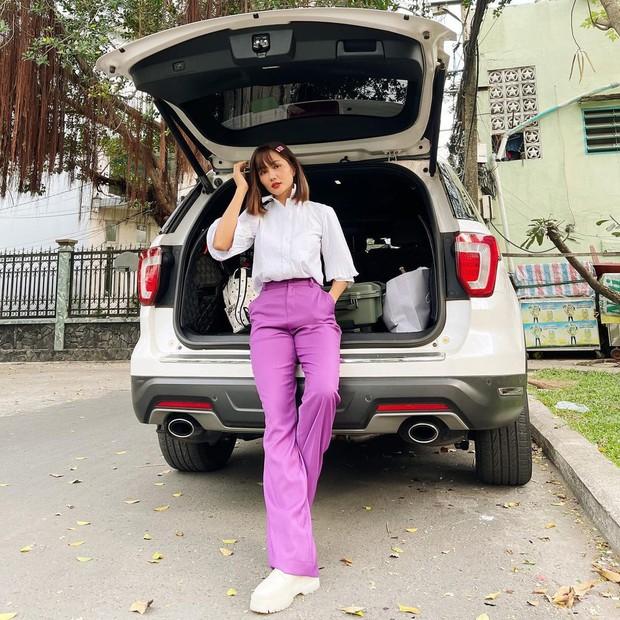 Ngắm sao Việt khoe outfit những ngày đầu năm, chị em sẽ rút ra loạt chiêu phối đồ trendy để áp dụng cho 2021 - Ảnh 4.